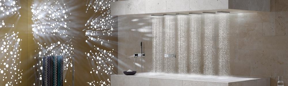 Die luxus horizontal shower von dornbracht lifestyle und design - Dornbracht horizontal shower ...