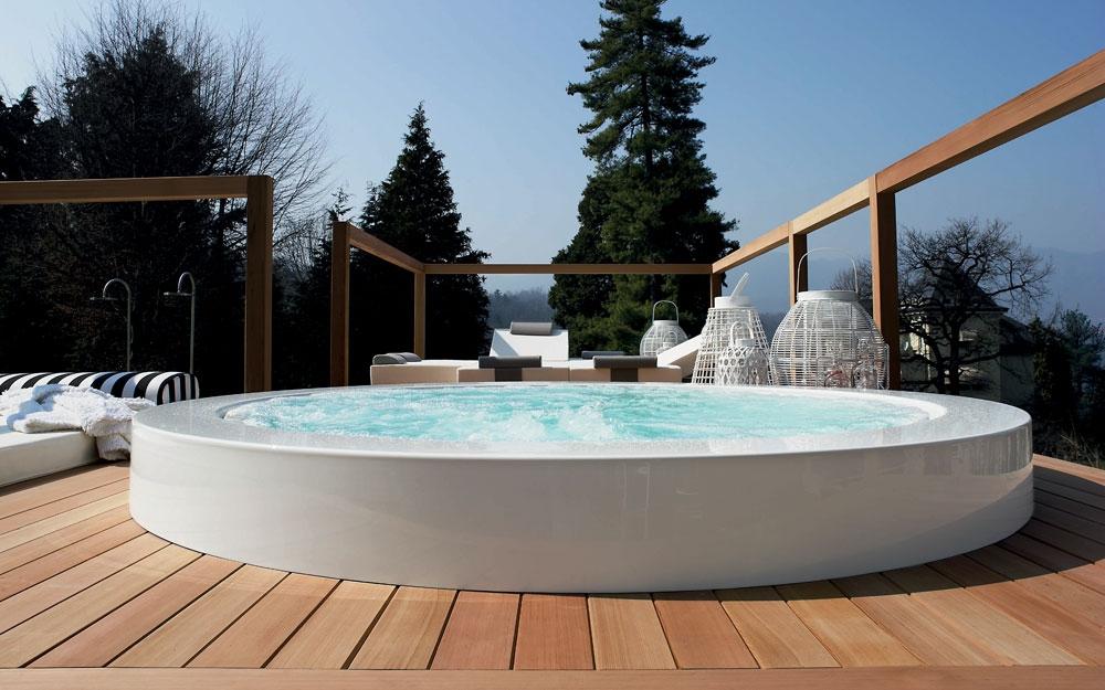 der outdoor und wellness minipool lifestyle und design. Black Bedroom Furniture Sets. Home Design Ideas