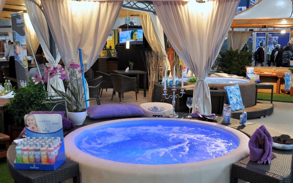 Wellnessraum einrichten  Messe aquanale 2009 in Köln | Lifestyle und Design