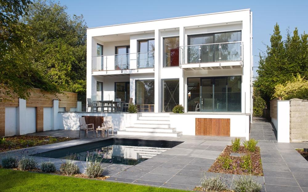 Modernes architektenhaus von baufritz lifestyle und design for Architektenhaus galerie 3