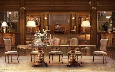 luxus stilm bel ein esstisch und sessel f r ihr esszimmer. Black Bedroom Furniture Sets. Home Design Ideas
