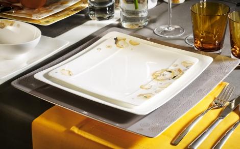 essgeschirr modern grace peonia edles porzellan von villeroy boch lifestyle und design. Black Bedroom Furniture Sets. Home Design Ideas