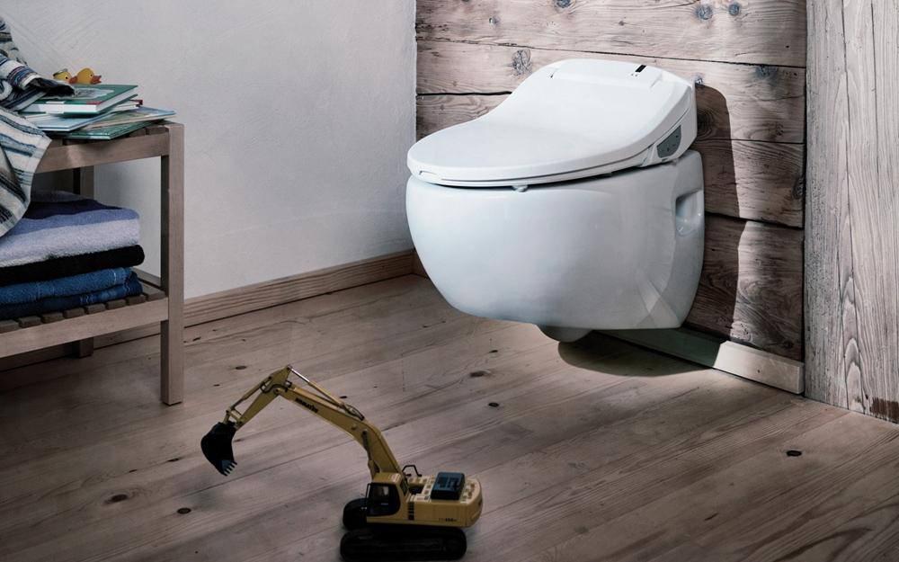 dusch wc aquamano integral lifestyle und design. Black Bedroom Furniture Sets. Home Design Ideas