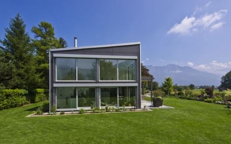 Holzhaus Wält Gartenansicht von Baufritz | Lifestyle und Design