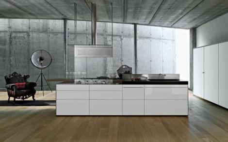 Weisse Luxus Kuchen Von Valcucine Kuchen Lifestyle Und Design