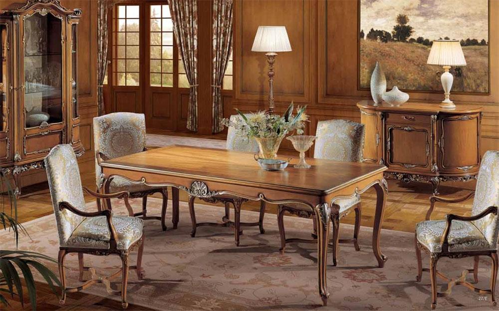 Luxus Möbel, Esszimmer mit Esstisch und Stühle  Lifestyle und ...