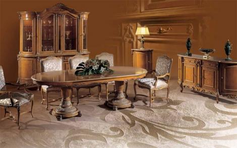 exklusives esszimmer esstisch st hle lifestyle und design. Black Bedroom Furniture Sets. Home Design Ideas
