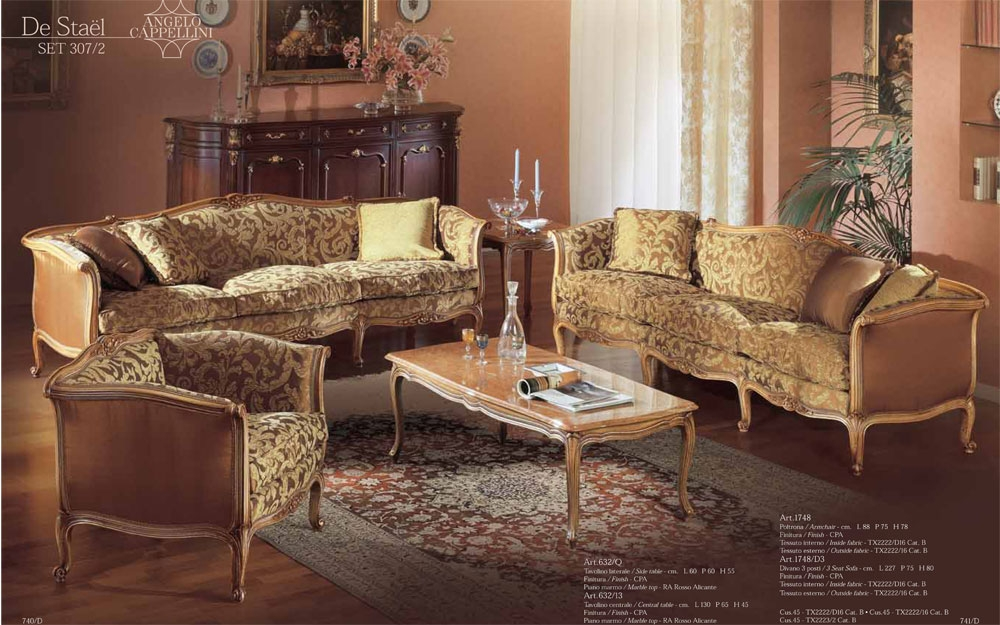 Sofa Garnitur Nievo SET 315/2. Angelo Cappellini ...
