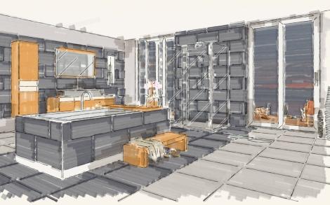 design bad planung mit palette cad lifestyle und design. Black Bedroom Furniture Sets. Home Design Ideas
