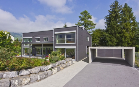 Architektur haus bauen architektenhaus design for Holzhaus moderne architektur