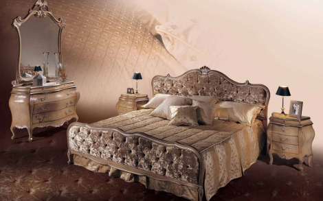 luxus schlafzimmer puccini und luxus betten aus italien lifestyle und design. Black Bedroom Furniture Sets. Home Design Ideas