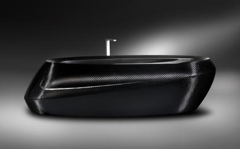Carbon Badewanne In Schwarz Von Corcel Lifestyle Und Design
