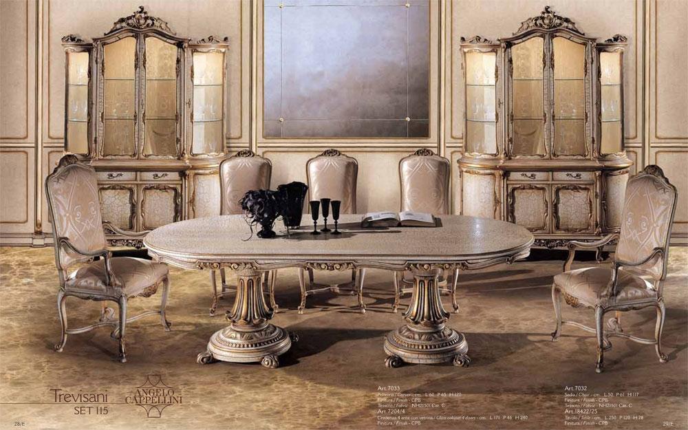 Luxus stilm bel ein esstisch und sessel f r ihr esszimmer for Esszimmer luxus