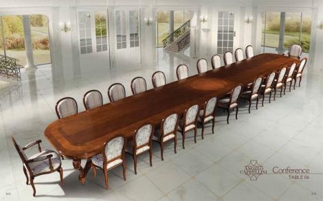 luxus konferenztisch mit sessel und st hle lifestyle und design. Black Bedroom Furniture Sets. Home Design Ideas