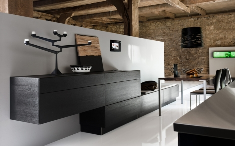 k che swing pur im mix von warendorf k chen lifestyle und design. Black Bedroom Furniture Sets. Home Design Ideas