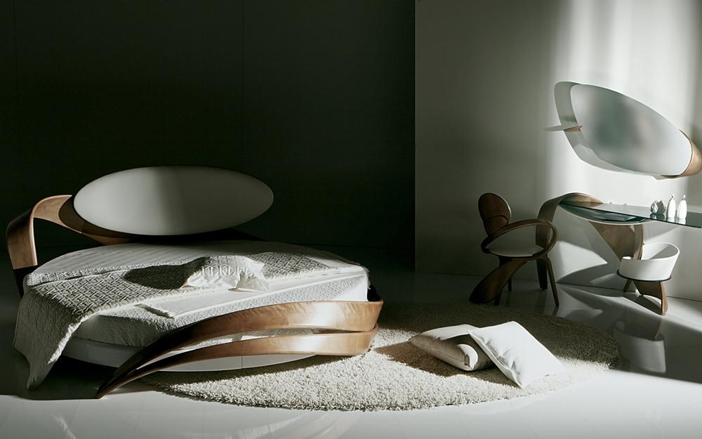 Designer Holzbett Lifestyle Und Design