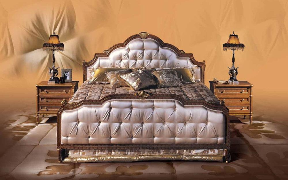 luxus schlafzimmer puccini und luxus betten aus italien. Black Bedroom Furniture Sets. Home Design Ideas