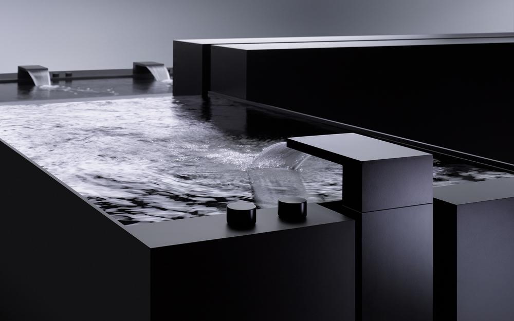 vertical shower von dornbracht lifestyle und design. Black Bedroom Furniture Sets. Home Design Ideas