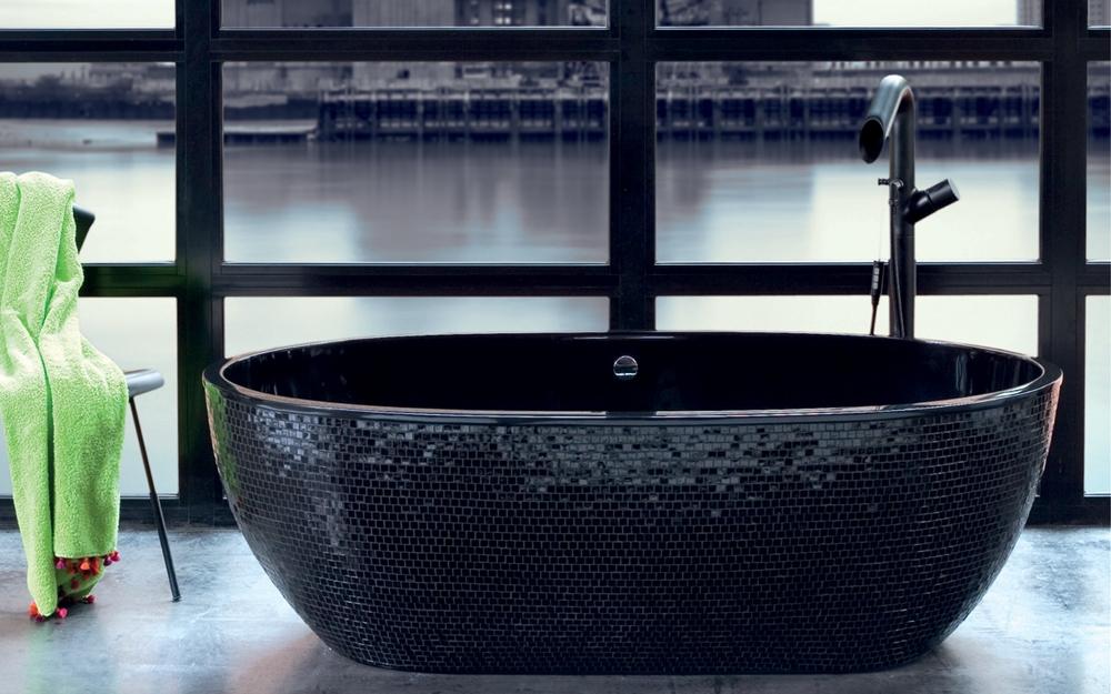 desig fürs bad badewannen von aquamass | lifestyle und design, Hause ideen
