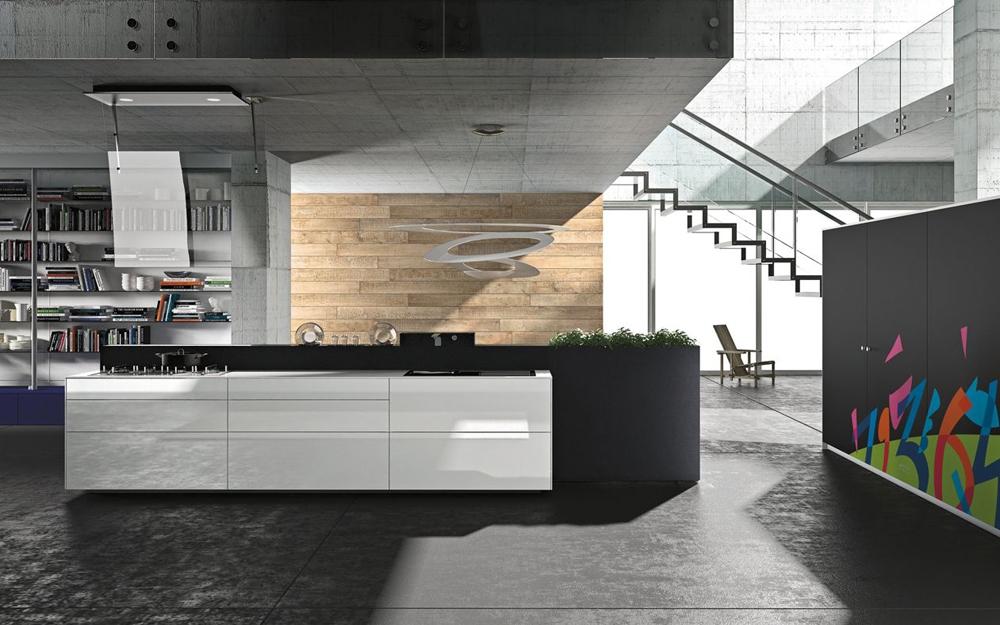 Wunderbar Küche Artematica Multiline Eisweiß