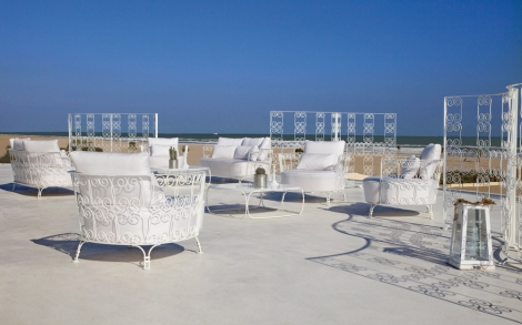 lounge gartensessel salimar in weiß | lifestyle und design, Haus und garten