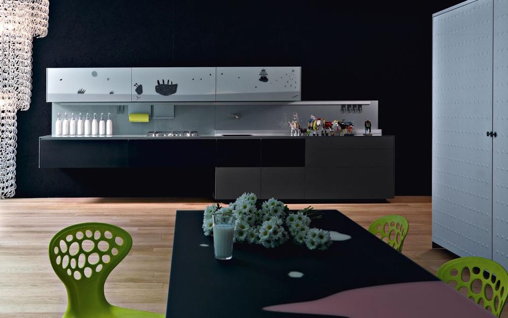 moderne designer k che mit holzfront von valcucine lifestyle und design. Black Bedroom Furniture Sets. Home Design Ideas