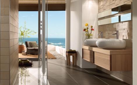 Runder Waschtisch von Villeroy & Boch  Lifestyle und Design