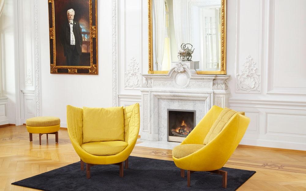 ein sofa sessel oder couch als design m bel lifestyle und design. Black Bedroom Furniture Sets. Home Design Ideas