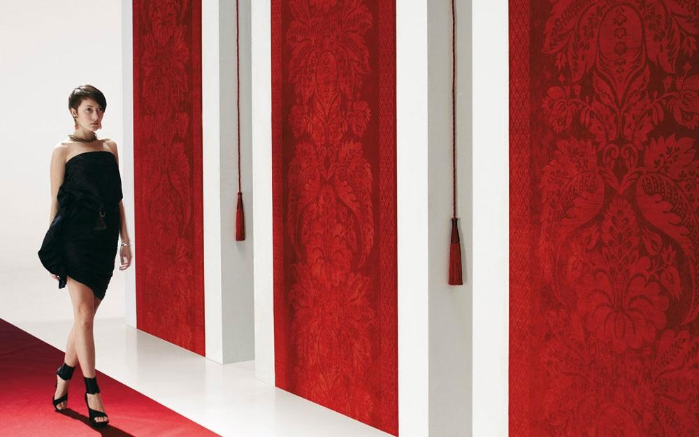 Exklusive Velourtapeten, Wandverkleidung aus Belgien von Arte ...