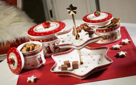 weihnachtsgeschirr winter bakery delight von villeroy boch lifestyle und design. Black Bedroom Furniture Sets. Home Design Ideas