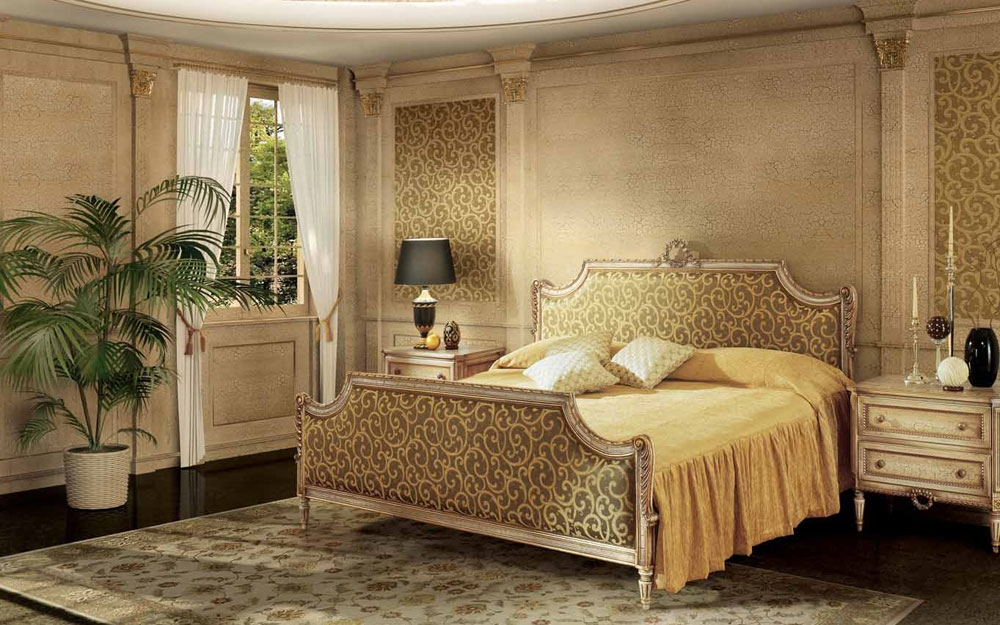 luxus schlafzimmer strauss und luxus betten aus italien lifestyle und design. Black Bedroom Furniture Sets. Home Design Ideas