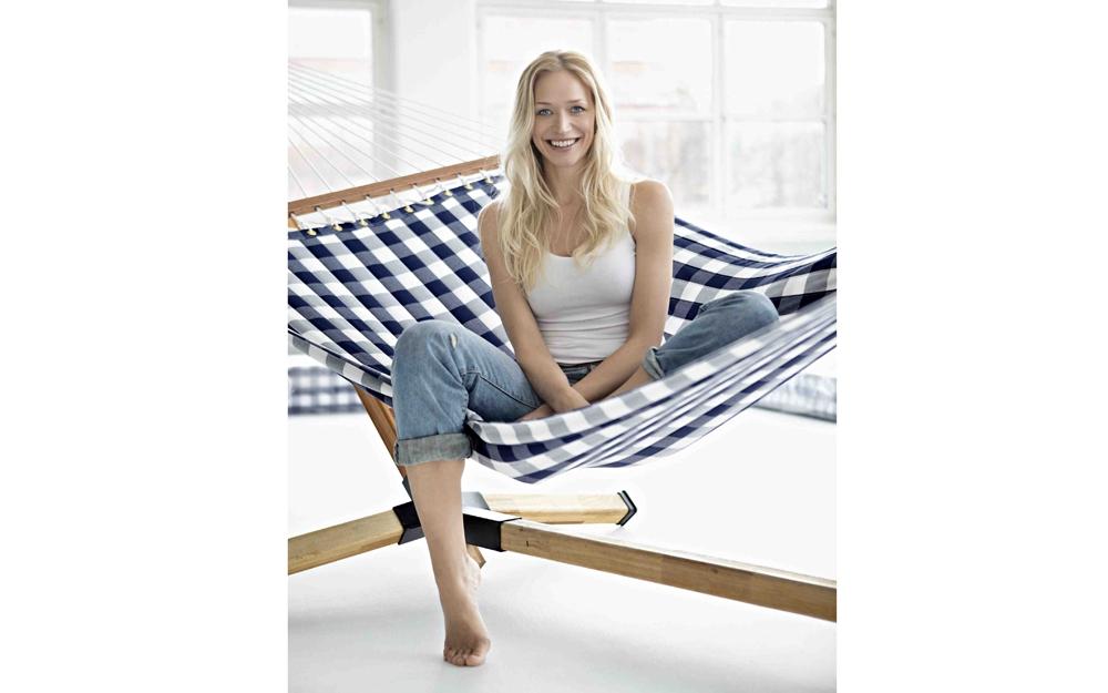 h ngematte von h stens lifestyle und design. Black Bedroom Furniture Sets. Home Design Ideas