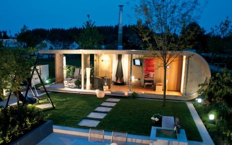 luxus gartenhaus von ettwein lifestyle und design. Black Bedroom Furniture Sets. Home Design Ideas