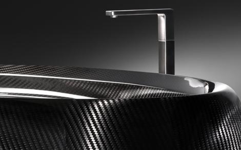 Luxus Design Badewanne Aus Carbon In Schwarz Von Corcel Lifestyle