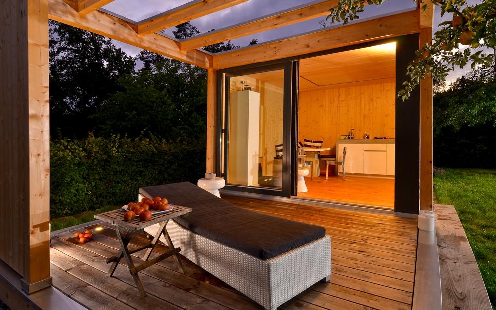 Luxus gartenhaus von ettwein lifestyle und design - Gartenhaus einrichten ...