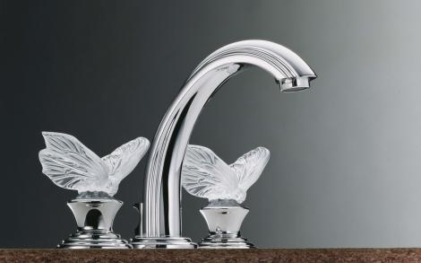 Luxus Badarmaturen kristallglas luxus badarmatur papillon thg lifestyle und design