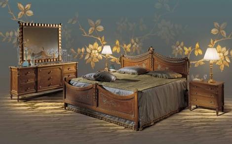 Schlafzimmer Ponchielli und Betten aus Italien | Lifestyle und Design