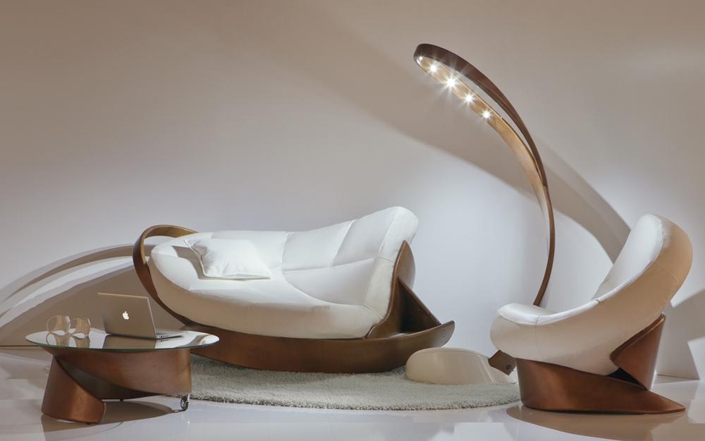 Holz Designer Sofa Und Sessel Lifestyle Und Design