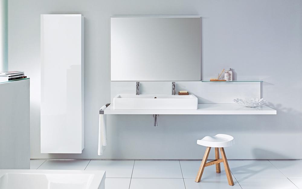 Konsole delos fürs bad von duravit lifestyle und design