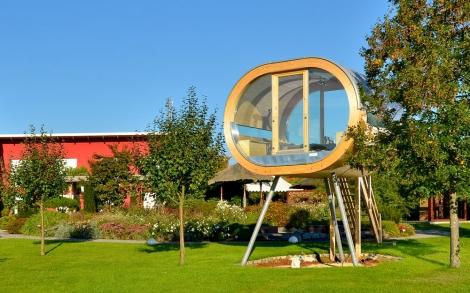 Design Gartenhaus gartenhaus auf stelzen vorderansicht lifestyle und design