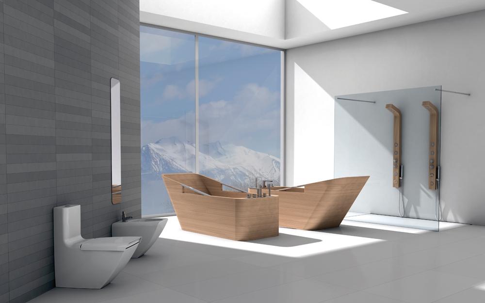 Wunderbar Design Baddesign Badewanne Admiral Luxus Bad Bder Von Devon With Luxus  Badezimmer Design