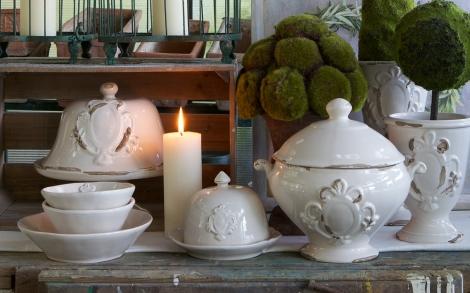 Geschirr Landhausstil romantisches porzellan im landhausstil lifestyle und design