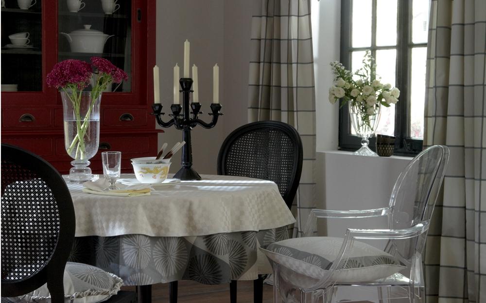 Edle stoffe und gardinen von jab anstoetz als deko zum einrichten und wohnen lifestyle und design - Edle gardinen wohnzimmer ...