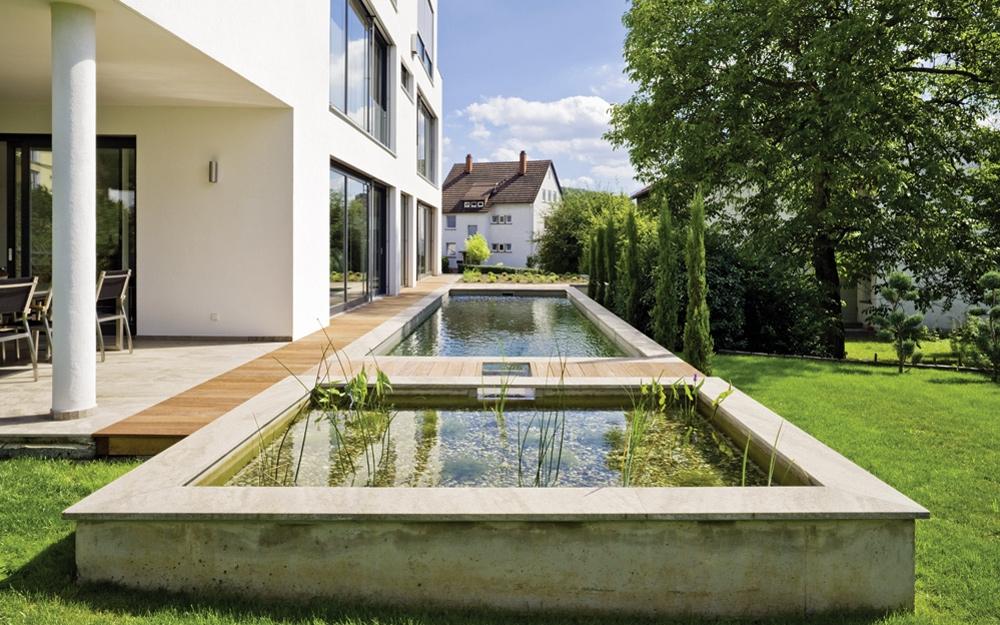 Gartenteich schwimmteich oder gartengestaltung von for Gartenteich design