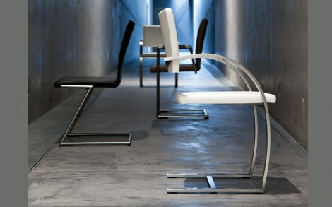 freischwinger stuhl von scholtissek lifestyle und design. Black Bedroom Furniture Sets. Home Design Ideas