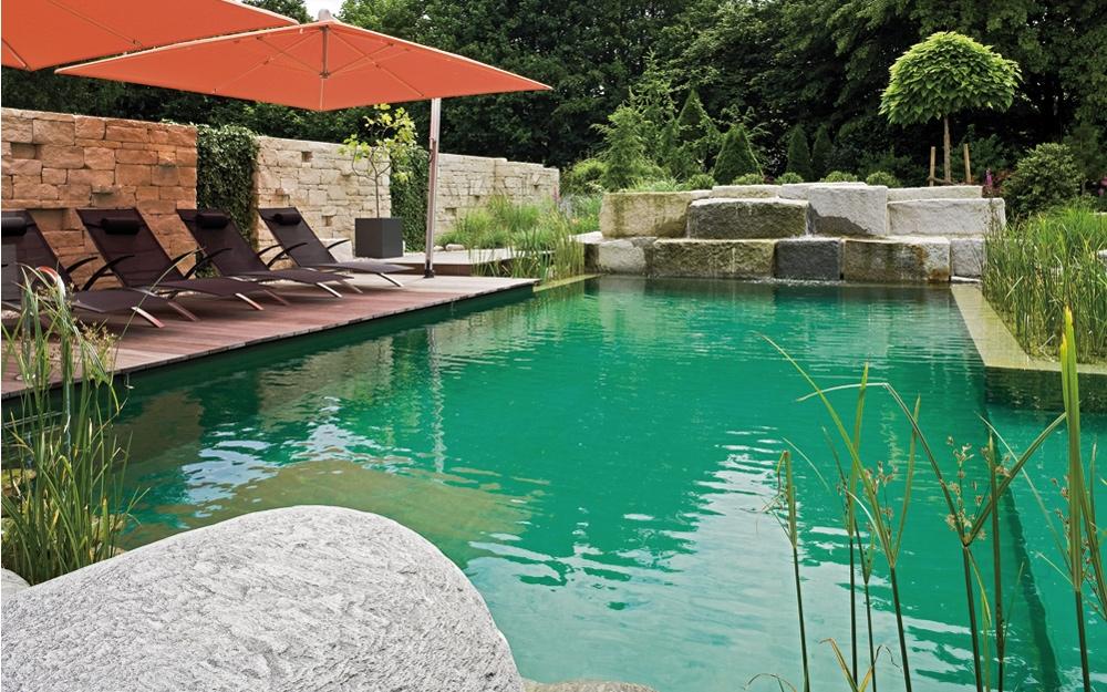 natur pool naturpool schwimmen ohne chemie naturpool flattach naturpool chill holzpoolset. Black Bedroom Furniture Sets. Home Design Ideas
