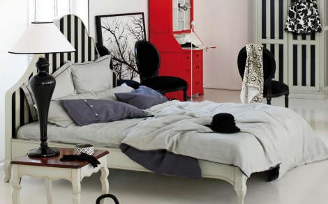 schlafzimmer bett betten schrank m bel von domicil lifestyle und design. Black Bedroom Furniture Sets. Home Design Ideas
