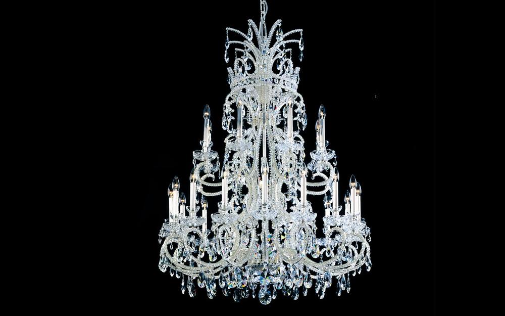 Faustig kritall leuchter lifestyle und design for Kristall leuchte