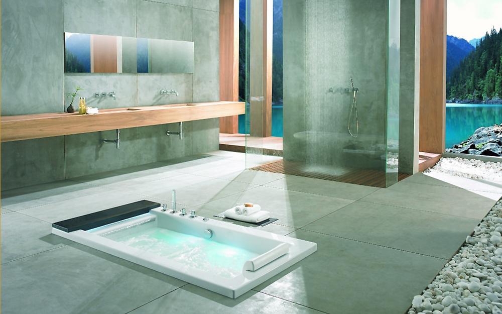 Exklusives design f r b der und badezimmer von k sch for Badezimmer architektur und design