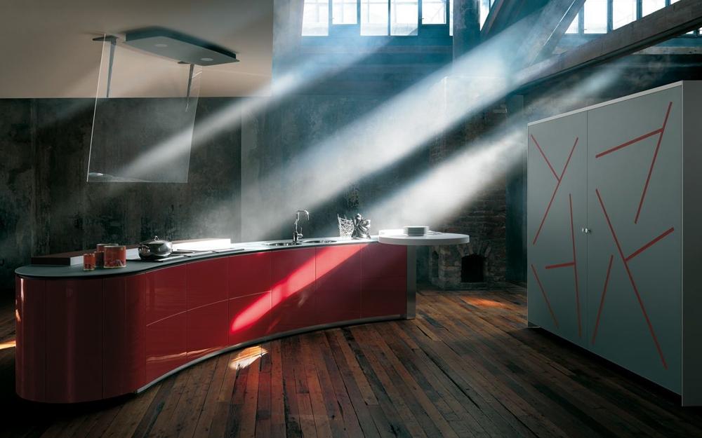 beautiful la cucina alessi photos. Black Bedroom Furniture Sets. Home Design Ideas